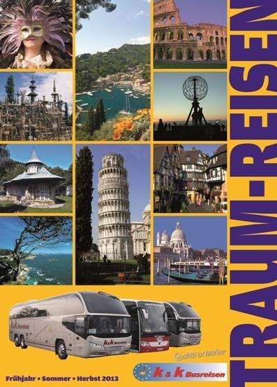 Layout Katalog Traumreisen - 1